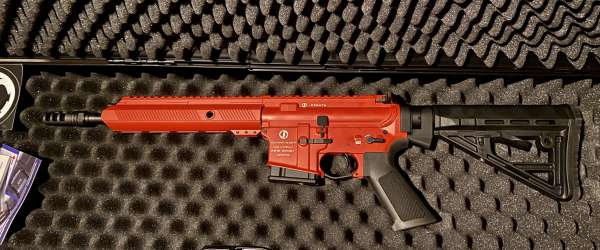 "Schmeisser AR15-S4F Sport S 10,5"" (.223 Rem.) - Special Edition RED"