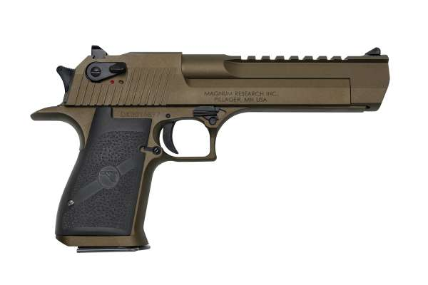 "Magnum Research Desert Eagle 6"" Burnt Bronze .44 Magnum"