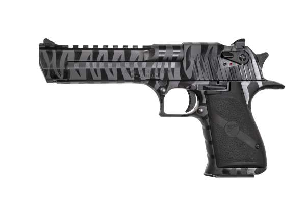 "Magnum Research Desert Eagle 6"" Black Tiger Stripe .44 Magnum"