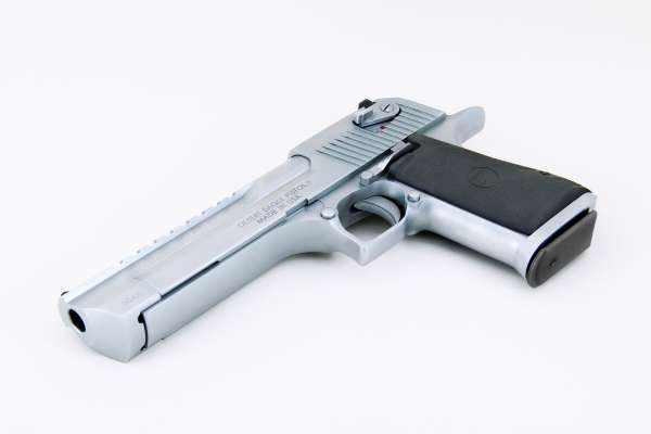 "Magnum Research Desert Eagle 6"" Brushed Chrome .50 AE"