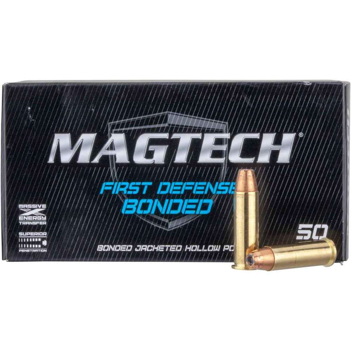 Magtech .38 Special+P JHP Bonded 8,0g/124grs.