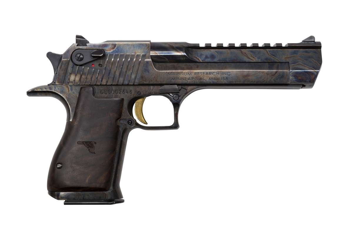 "Magnum Research Desert Eagle 6"" Case Hardened .50 AE"