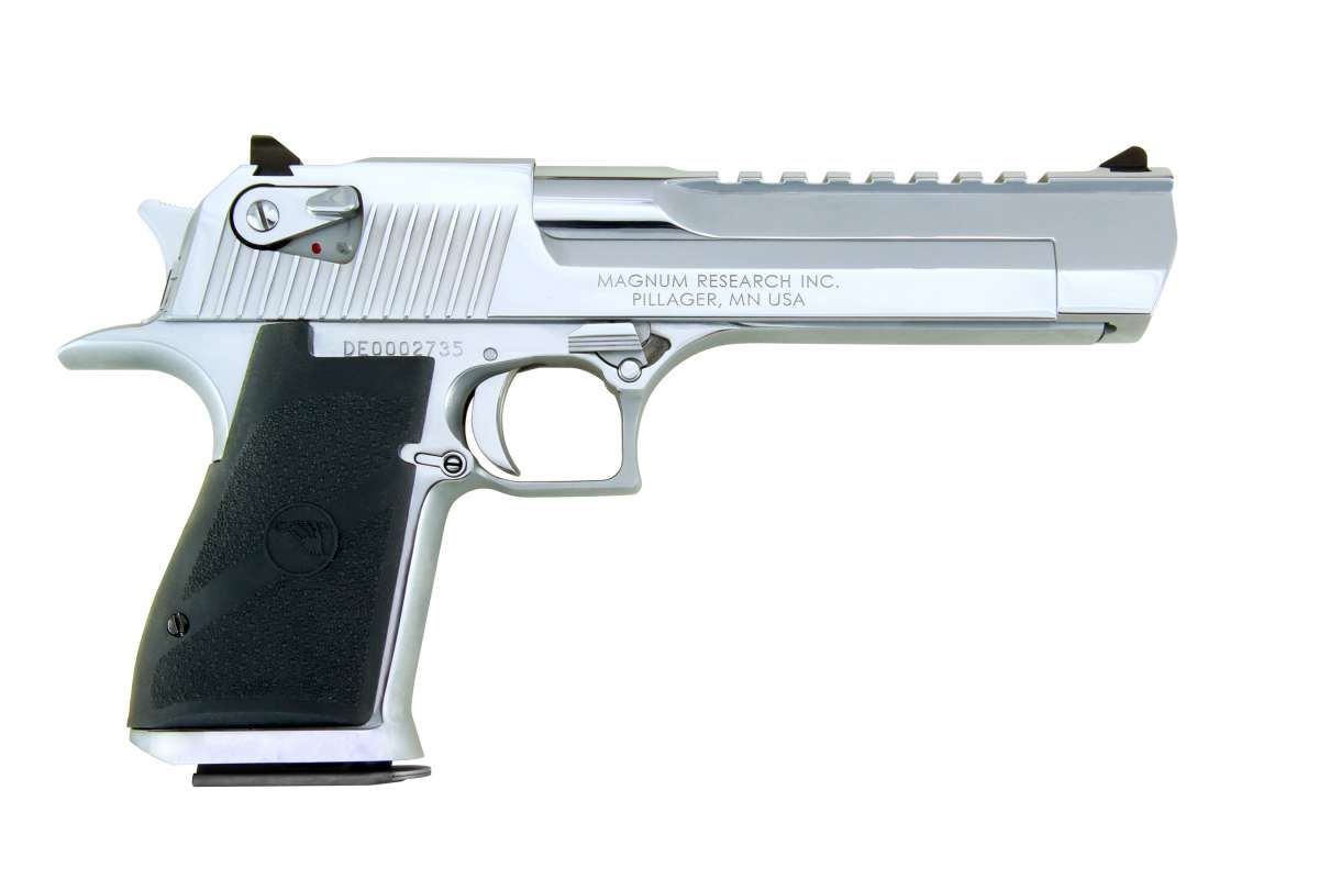 "Magnum Research Desert Eagle 6"" Polished Chrome .357 Magnum"