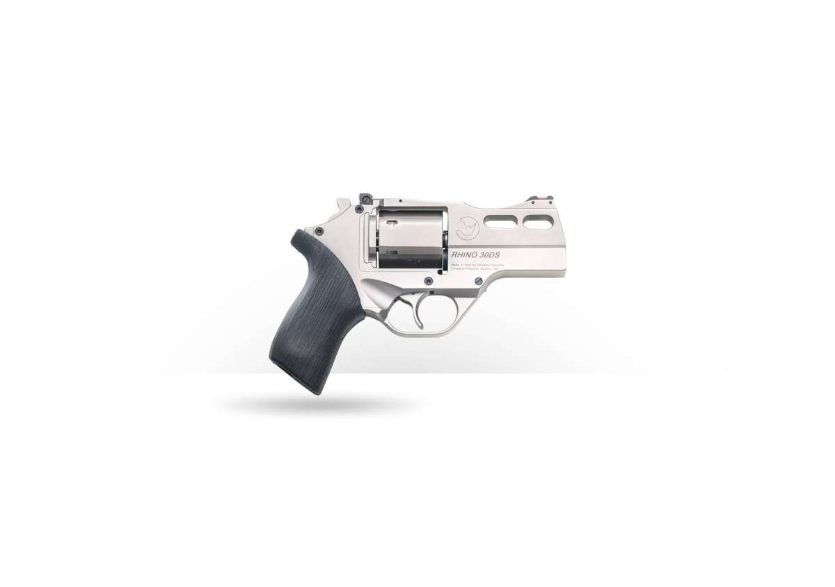 "Chiappa Rhino Revolver 30DS (Nickel Plated) 357MAG/3""BBL"